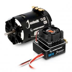 Hobbywing Xerun Combo JS4 - XR10 Justock G3 + 13.5T G2.1 3200kv 38020320