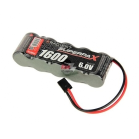 Batteria RX 2/3A 6V 1600mAh NiMH  St