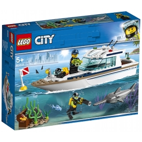 LEGO YACHT PER IMMERSIONI
