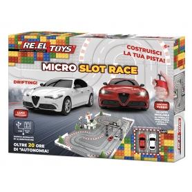 RE-EL TOYS Micro Slot Race 0910 Pista Compatibile LEGO