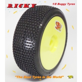 Gomme 1/8 Off Road RICKY mescola M35 NEW 2017