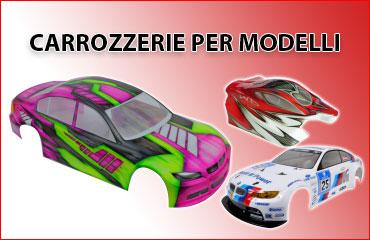 Carrozzerie per automodelli RC